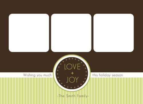 Love + Joy Front